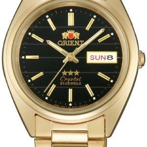 Orient Classic Fab0000bb9 Kello Musta / Kullansävytetty Teräs