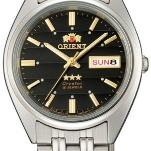 Orient Classic Fab0000db9 Kello Musta / Teräs