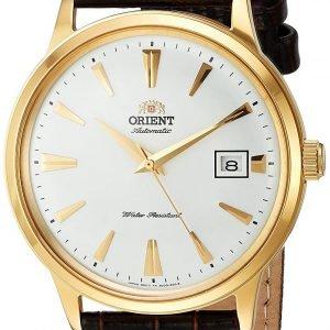 Orient Classic Fac00003w0 Kello Valkoinen / Nahka