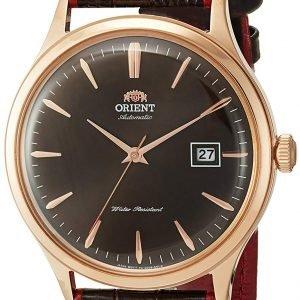 Orient Classic Fac08001t0 Kello Ruskea / Nahka