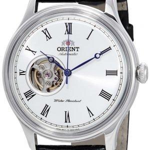 Orient Classic Fag00003w0 Kello Valkoinen / Nahka