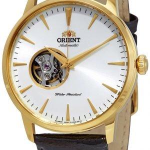 Orient Classic Fag02003w0 Kello Valkoinen / Nahka
