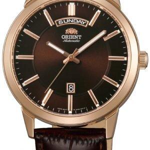 Orient Classic Fev0u002th Kello Ruskea / Nahka