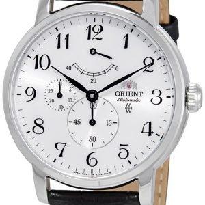 Orient Classic Fez09005w0 Kello Valkoinen / Nahka