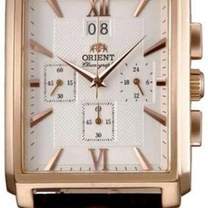Orient Classic Ftvaa001w0 Kello Hopea / Nahka
