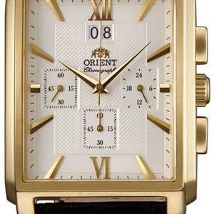 Orient Classic Ftvaa002w0 Kello Hopea / Nahka