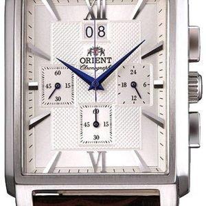Orient Classic Ftvaa004s0 Kello Hopea / Nahka