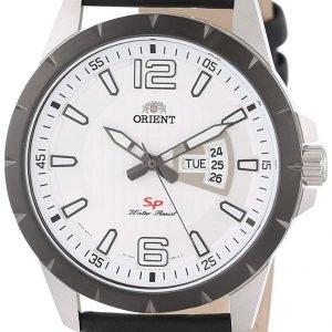 Orient Classic Fug1x003w9 Kello Valkoinen / Nahka