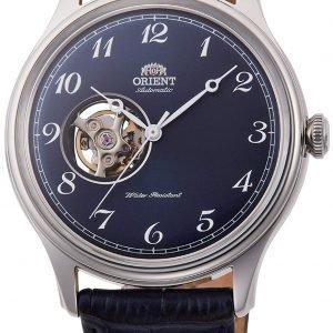 Orient Classic Ra-Ag0015l10b Kello Sininen / Nahka