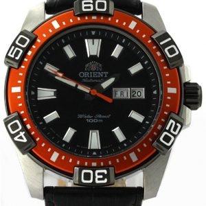 Orient Marine Fem7r005b9 Kello Musta / Nahka