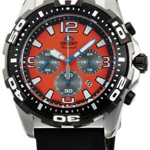Orient Sporty Ftw05005m0 Kello Oranssi / Kumi
