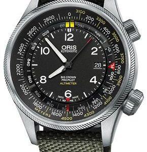 Oris Aviation 01 733 7705 4164-Set 5 23 14fc Kello