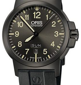 Oris Aviation 01 735 7641 4263-07 4 22 05g Kello Harmaa / Kumi