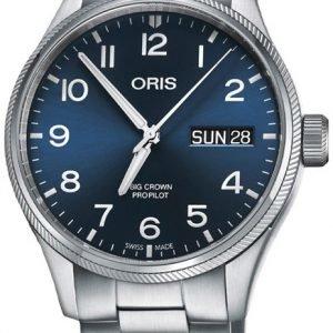 Oris Aviation 01 752 7698 4065-07 8 22 19 Kello