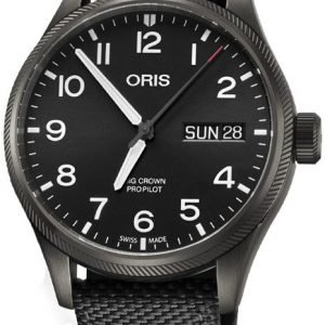Oris Aviation 01 752 7698 4264-07 5 22 15gfc Kello