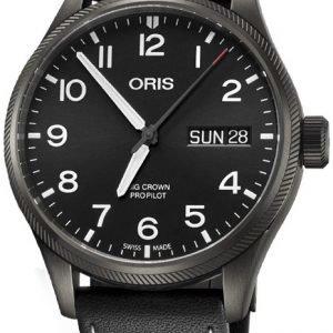 Oris Aviation 01 752 7698 4264-07 5 22 19gfc Kello