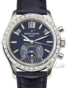 Patek Philippe Complicated 5961p Kello Sininen / Nahka