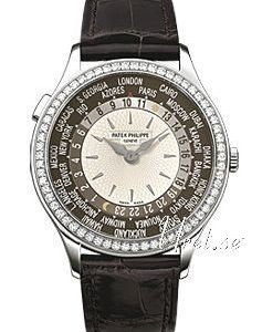 Patek Philippe Complicated World Time 7130g Kello Hopea / Nahka