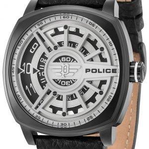 Police Speed Head Pl15239jsb/01 Kello Harmaa / Nahka