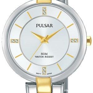 Pulsar Attitude Ph8314x1 Kello Hopea / Kullansävytetty Teräs