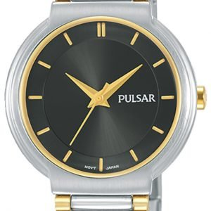 Pulsar Attitude Ph8331x1 Kello Musta / Kullansävytetty Teräs