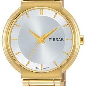 Pulsar Attitude Ph8334x1 Kello Hopea / Kullansävytetty Teräs