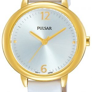 Pulsar Attitude Ph8358x1 Kello Hopea / Nahka