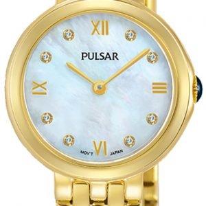 Pulsar Attitude Pm2248x1 Kello Valkoinen / Kullansävytetty