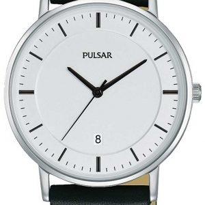 Pulsar Dress Pg8255x1 Kello Valkoinen / Nahka
