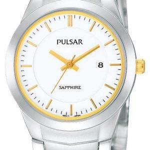 Pulsar Dress Ph7261x1 Kello Valkoinen / Teräs