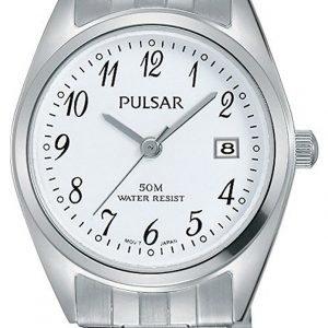 Pulsar Dress Ph7443x1 Kello Valkoinen / Teräs