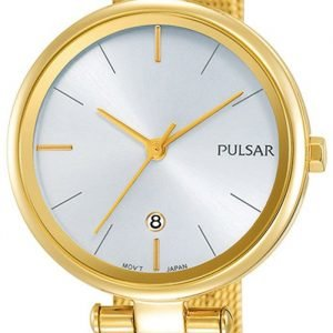 Pulsar Dress Ph7462x1 Kello Hopea / Kullansävytetty Teräs