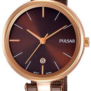 Pulsar Dress Ph7466x1 Kello Ruskea / Teräs