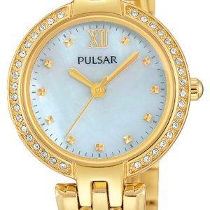 Pulsar Dress Ph8164x1 Kello Valkoinen / Kullansävytetty Teräs