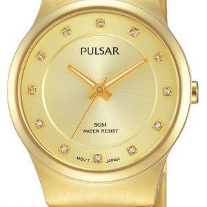 Pulsar Dress Ph8170x1 Kello Kullattu / Kullansävytetty Teräs