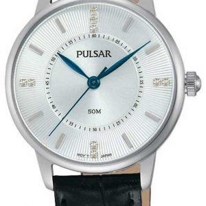 Pulsar Dress Ph8177x1 Kello Hopea / Nahka