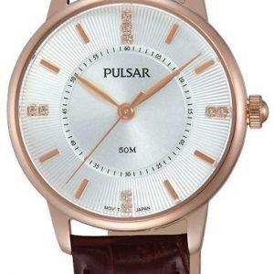 Pulsar Dress Ph8180x1 Kello Hopea / Nahka
