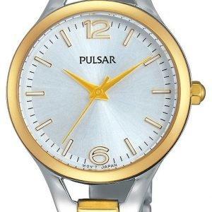 Pulsar Dress Ph8186x1 Kello Hopea / Kullansävytetty Teräs