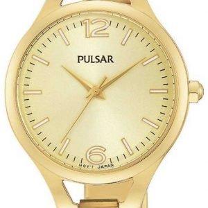 Pulsar Dress Ph8188x1 Kello Kullattu / Kullansävytetty Teräs