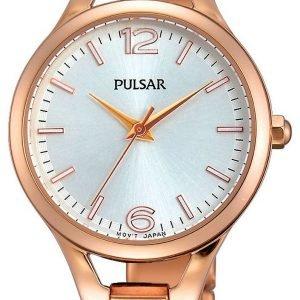Pulsar Dress Ph8190x1 Kello Hopea / Punakultasävyinen