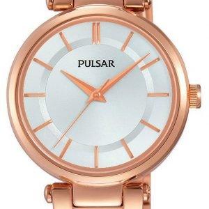 Pulsar Dress Ph8196x1 Kello Hopea / Punakultasävyinen
