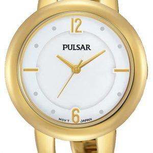 Pulsar Dress Ph8206x1 Kello Valkoinen / Kullansävytetty Teräs