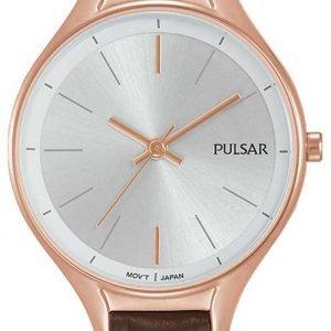 Pulsar Dress Ph8282x1 Kello Hopea / Nahka