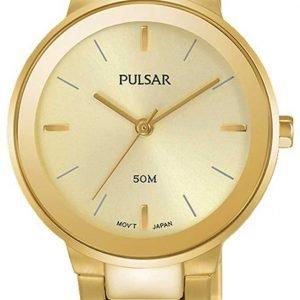 Pulsar Dress Ph8288x1 Kello Kullattu / Kullansävytetty Teräs