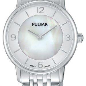 Pulsar Dress Prw025x1 Kello Valkoinen / Teräs