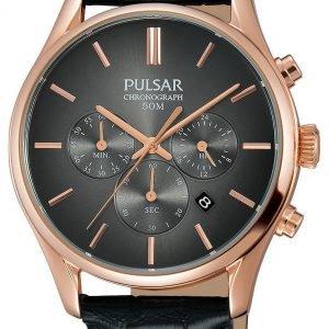 Pulsar Dress Pt3782x1 Kello Musta / Nahka