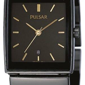 Pulsar Dress Pxq537x1 Kello Musta / Teräs