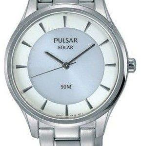 Pulsar Dress Py5017x1 Kello Valkoinen / Teräs