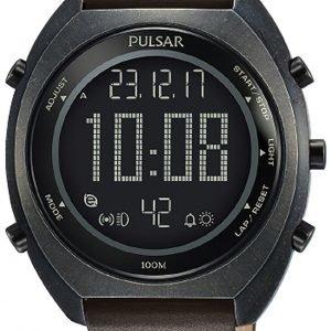 Pulsar Pulsar X P5a029x1 Kello Lcd / Nahka