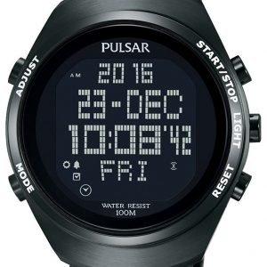 Pulsar Pulsar X Pq2057x1 Kello Lcd / Teräs